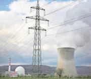 Das Kernkraftwerk Leibstadt hat von August 2016 bis Mitte Februar 2017 stillgestanden. (Bild: Pius Amrein (Leibstadt, 4. April 2011))