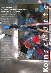 Einladungskarte zu 100 Jahre Künstlervereinigung Palette Luzern. (Bild: PD)