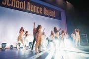 Schülerinnen bei einem Auftritt im Rahmen des School Dance Awards in Luzern. (Bild: Bruno Eberli/PD)