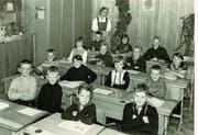 Fast doppelt so lang war Marie Troxler als Lehrerin tätig – 47 Jahre hat sie dort unterrichtet. Schule Eigenthal (Bild: Schule Eigenthal (1967))