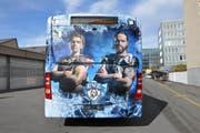Der neue EVZ-Gelenkbus der ZVB. (Bild: PD)