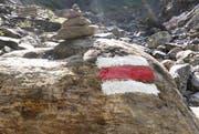 Der Wanderweg der Etappe 5 des Waldstätterwegs ist unterbrochen. (Symbolbild Neue NZ)