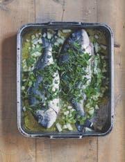 Fische sind und waren stets eine klassische Fastenspeise. (Bild aus: Rezepte und Geheimnisse aus der Klosterküche, AT Verlag)