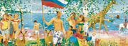Schöne, heile Welt – Vladimir Dubossarsky/Alexander Vinogradov, «What the homeland begins with», 2006. Öl auf Leinwand. (Bild: Dubossarsky/Vinogradov/PD)