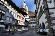 Ein Ort zum Wohlfühlen: die Zuger Altstadt. (Bild Werner Schelbert)
