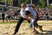 Andreas Ulrich startete mit einer «Zehn» gegen Bruno Müller. (Bild: Alexandra Kälin / Bote der Urschweiz)