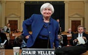 Die abtretende Fed-Chefin Janet Yellen in Washington. (Bild: Jacquelyn Martin/Keystone (29. November 2017))