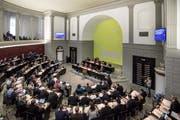 Der Luzerner Kantonsrat hat am Dienstag zahlreiche Beschlüsse gefasst. (Bild: Pius Amrein)