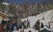 Viele Skifahrer waren auf der Piste unterwegs. (Bild Mythenregion.ch)