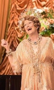 Meryl Streep als gnadenlos talentfreie Sängerin. (Bild: Pathé Films)