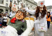 Der Wey-Umzug am Güdismontag lockte 32'000 Fasnachtsbegeisterte an. (Bild: Boris Bürgisser/Neue LZ)
