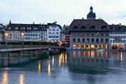 Das Luzerner Rathaus. (Bild: Keystone)