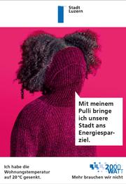 Ein Grad weniger spart sechs Prozent Heizenergie (Bild: Stadt Luzern)