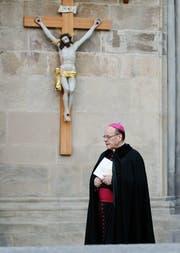 Der Churer Bischof Vitus Huonder. (Bild: Keystone)