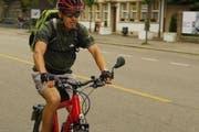 Dank «Try to Ride» mit dem E-Bike umweltfreundlich zur Arbeit fahren. (Bild: PD)