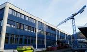 Das Gebäude der BSZ-Stiftung an der Frauholzstrasse 9 in Steinen mit Arbeitsplätzen für Menschen mit einer Beeinträchtigung wird bis Mitte 2019 um- und ausgebaut. (Bild: PD)