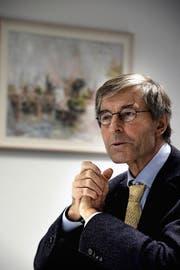 Paul Richli, Rektor der Universität Luzern. (Bild Nadia Schärli)
