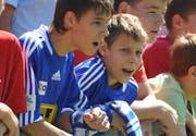 Trotz Qualitätsmängel sind die FCL-Trikots bei den Fans beliebt. (Corinne Glanzmann/Neue LZ)