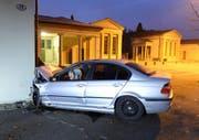 Der 20-jährige Lernfahrer war alkoholisiert. (Bild: Luzerner Polizei (Luzern, 1. November 2017))