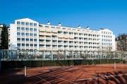 Ab 2008 zogen in die neue Luxusresidenz die ersten Bewohner ein. (Bild: Roger Grüter / Neue LZ)