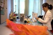Ob Polsterei, Hutmacherei oder exquisite Kleider: Das traditionelle Handwerk lebt – auch in der Stadt Luzern. (Bild: Nadia Schärli / Neue LZ)