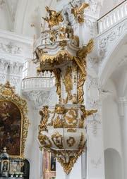 Hochaltar in der Klosterkirche St. Urban (Bild: Roger Grütter)