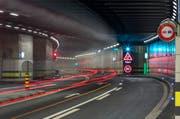Es kommt erneut zu einer Abstimmung über eine zweite Tunnelröhre am Gotthard. (Bild: Keystone)