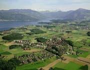 Blick auf die Gemeinde Hünenberg. (Bild: PD)