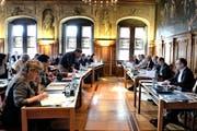 Die CVP hätte mehr Sitze erobern können, hätte sie mit der SVP kooperiert, glaubt Olivier Dolder. Blick in eine Sitzung des Grossen Stadtrates. (Bild: Nadia Schärli / Neue LZ)