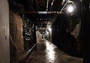 Nichts für Klaustrophobiker: Das Innere der Festung Fürigen. (Bild pd)