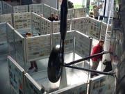 Blick in die Ausstelung in der Halle Luft- und Raumfahrt. (Bild: PD)