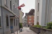 Eingang der Gemeindeverwaltung in Lachen. (Bild: Google Maps)