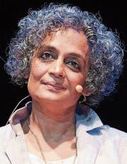 Arundhati Roy kämpft mit Essays und Romanen gegen das Unrecht. (Bild: Giorgio Onorati/AP)