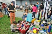 Ist ein Treffpunkt für Secondhand-Fans: der Flohmarkt im Kulturzentrum Südpol, der jeweils am ersten Sonntag des Monats stattfindet. (Bild: PD)