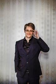 Der Ex-Geheimdienstmitarbeiter Edward Snowden. Bild: Lotta Hardelin/AFP Photo/Dagens Nyheter (Moskau, 21. Oktober 2015)