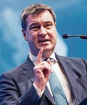 Der neue CSU-Spitzenkandidat: Markus Söder. (Bild: Lukas Barth/EPA)
