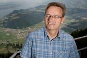 Landratspräsident Conrad Wagner möchte in den Nidwaldner Regierungsrat. (Bild: Corinne Glanzmann / Neue LZ)