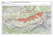 Die Fläche des neuen Naturwaldreservats. (Bild: PD)