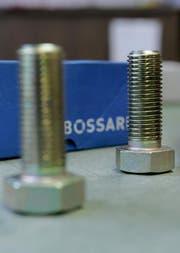 Der Zuger Schraubenhersteller Bossard verzeichnet im ersten Halbjahr einen Gewinnrückgang. (Bild: PD)
