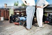 Der Swiss Vapeur Parc in Le Bouveret, Wallis: Hier werden grosse Eisenbahnträume im kleinen Modell wahr. (Bild: Stefan Jaeggi/Keystone)