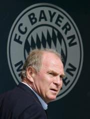 FC-Bayern-Präsident Uli Hoeness. Die Vergangenheit hat ihn heimgeholt. (Bild: Keystone/Matthias Schrader)