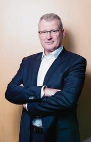 Der Zuger Finanzdirektor Heinz Tännler. (Bild: Stefan Kaiser (Zug, 17. März 2017))
