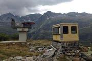 Alte Anlagen am Winterhorn. (Bild PD / Mountain Wilderness)