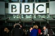 Der Hauptsitz der BBC in London. (Bild: Will Oliver/Keystone (London, 30. Januar 2017))