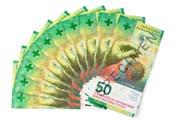 So sieht die neue 50er-Note aus: Die Kantonalbank hat sie zuerst. (Bild: PD)