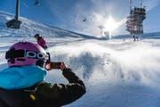 Skifahren ist am Wochenende nicht nur auf dem Titlis-Gletscher möglich. (Bild: Roger Grütter)