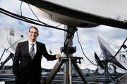 Andreas Widmer, Direktor der Wasserwerke Zug (WWZ). (Bild: Stefan Kaiser)