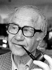 Der Bündner Autor Oscar Peer (1928–2013). (Bild: PD/Yvonne Böhler)