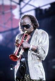 Miles Davis auf einer Aufnahme von 1986. (Bild: Keystone)