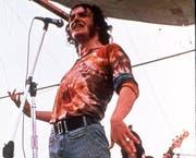 Mit einem Schlag rückte er ins Rampenlicht und schrieb Rockgeschichte: Joe Cockers Auftritt 1969 am Woodstock-Festival. (Bild: Keystone)